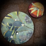 Mistletoe and Buttoned Eucalyptus